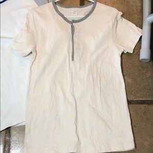 J crew size small Henley style button shirt